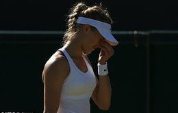 """Bại tướng Bouchard thoát tội mặc """"phụ kiện"""" đen ở Wimbledon"""