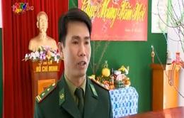 Ngày mùng 1 Tết của bộ đội biên phòng Điện Biên
