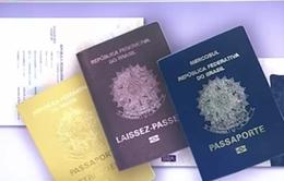 Brazil triệt phá đường dây làm giấy khai sinh giả cho người Syria