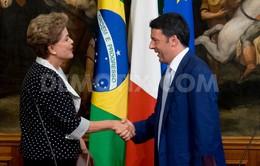 Tổng thống Brazil thăm Italy