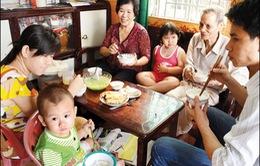 Bữa cơm gia đình - Nơi hình thành nhân cách cho trẻ