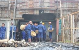 Bục túi nước đường lò: Chưa tìm thấy công nhân bị mắc kẹt