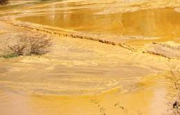 Yên Bái: Chậm trễ khắc phục hậu quả vụ vỡ bể chứa bùn thải quặng sắt