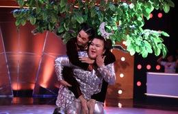 """Bước nhảy ngàn cân 2015: Sơn Lâm lên tiếng về tin đồn hẹn hò """"hotgirl trăm ký"""""""