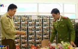 Bắt giữ nhiều tấn hàng nhập lậu từ Lạng Sơn về Hà Nội