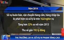 Số vụ buôn bán, vận chuyển hàng cấm năm 2014 tăng cao