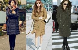 Áo khoác Burberry khiến mỹ nữ xứ Hàn mê mẩn