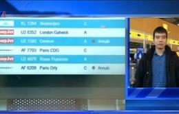 Hàng trăm chuyến bay tại Pháp bị hủy do nhân viên đình công