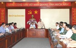 Phó Thủ tướng Nguyễn Xuân Phúc chỉ đạo phòng chống mưa lũ tại Quảng Ninh