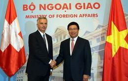 Thụy Sỹ coi trọng tăng cường hợp tác với Việt Nam