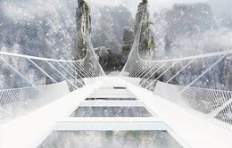 Hãi hùng cây cầu kính dài và cao nhất thế giới ở Trung Quốc