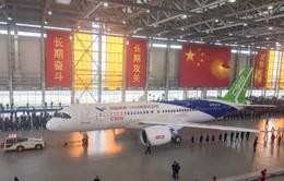 Trung Quốc công bố mẫu máy bay thương mại cỡ lớn
