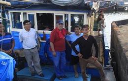 Chuyên gia Nhật Bản cùng ngư dân Bình Định ra khơi câu cá ngừ