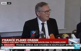 Có 67 người Đức trên chiếc máy bay xấu số