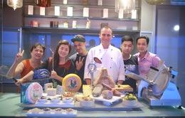 Vua đầu bếp Việt 2015: Top 13 hào hứng tham gia tour khám phá ẩm thực