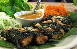 Bò cuốn lá lốt - Món ăn đường phố nổi tiếng tại TP. Hồ Chí Minh