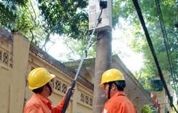 """EVN Hà Nội sử dụng """"gậy selfie"""" đọc chỉ số công tơ điện"""