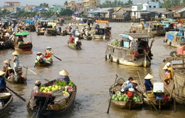 """Ghé thăm chợ nổi - """"đặc sản"""" nơi sông nước miền Tây"""