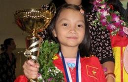 Kỳ thủ nhí vô địch cờ vua trẻ thế giới được khen thưởng