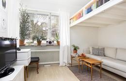Chiêm ngưỡng căn hộ màu trắng nhỏ xinh