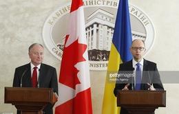Ngoại trưởng Canada hội đàm với Thủ tướng Ukraine