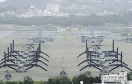 Nhật Bản tạm ngừng tái bố trí căn cứ của Mỹ tại Okinawa