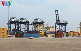 Cảng container trung tâm Sài Gòn đón chuyến tàu đầu tiên năm 2015