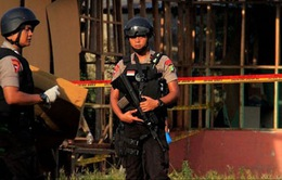 Nổ lớn tại Jakarta, 4 người bị thương
