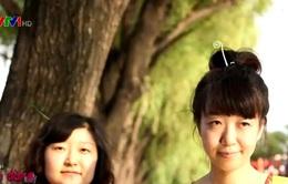 """Lạ kỳ trào lưu """"Nở hoa trên đầu"""" của giới trẻ Trung Quốc"""