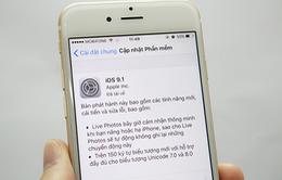 Cập nhật iOS 9.1 trong đêm sẽ khiến báo thức bị tắt