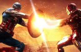 Captain America và Iron Man đối đầu đầy 'nghẹt thở'