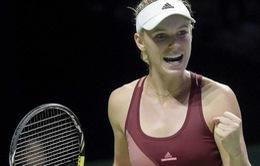 Wozniacki, Venus thẳng tiến vào tứ kết Auckland