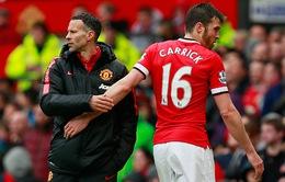 Man Utd mất Michael Carrick đến hết mùa