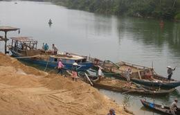 Khai thác cát trái phép các xã vùng biển có chiều hướng giảm