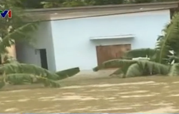 Hải Phòng: Mưa lớn gây ngập lụt nặng tại huyện đảo Cát Hải