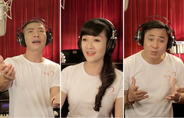 Các Táo quân hào hứng tham gia thu âm MV Trái tim cho em