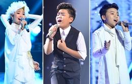 Giọng hát Việt nhí 2015: Học trò Hồ Hoài Anh - Lưu Hương Giang có ưu thế đăng quang