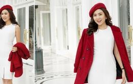 Mặc đẹp mùa Giáng sinh cùng cô gái thời tiết Mai Ngọc