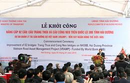 Hải Dương: Khởi công nâng cấp cầu Tràng Thưa và cầu Cống Neo