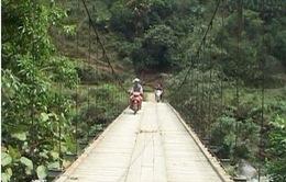 Hà Giang: Hoàn thành sửa chữa cầu treo trước mùa mưa lũ
