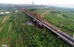 Xây cầu đường sắt vượt sông Hồng - Nỗi băn khoăn của nhiều người dân