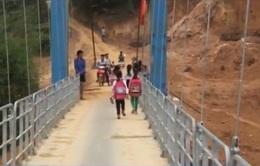 Hoàn thành 186 cầu treo dân sinh trước ngày 30/6