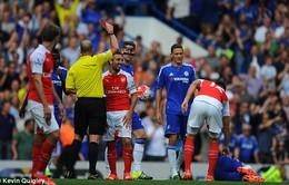 Điểm nhấn derby London: Arsenal tự thua kình địch Chelsea vì thẻ phạt