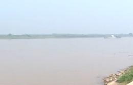 Đã ngăn chặn được nạn khai thác cát trái phép trên sông Đuống