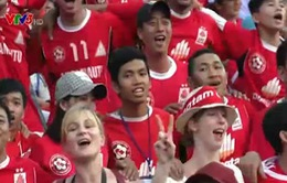 V-League 2015: Ấn tượng Hội CĐV Đồng Tâm Long An
