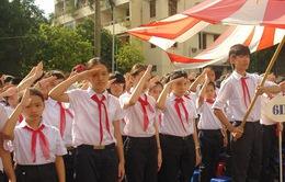 Hà Nội thực hiện nghi lễ chào cờ vào thứ Hai hàng tuần
