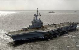 Pháp triển khai tàu sân bay chống IS