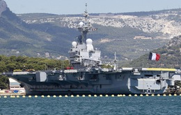 Pháp triển khai tàu sân bay tới Iraq để chống IS
