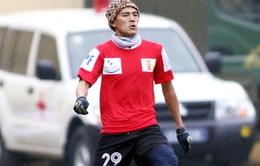 Hậu vệ Châu Phong Hòa sẽ sớm trở lại với bóng đá?