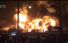 Thái Lan: Cháy lớn ở nhà máy sản xuất lốp xe